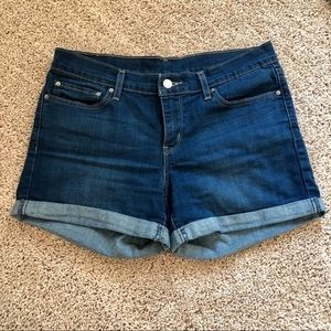 Levi's Cuffed Denim Shorts